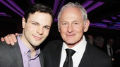 Victor Garber sends his congratulations to Jonny Orsini, who makes his Broadway debut in The Nance. 