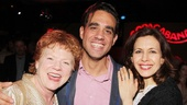 Becky Ann Baker and The Big Knife star Bobby Cannavale are excited for Jessica Hechts big opening night. 