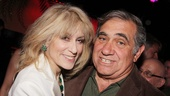 Judith Light celebrates opening night with her Lombardi co-star Dan Lauria.