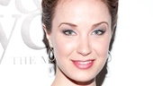 Broadway.com Audience Choice Awards nominee Sierra Boggess looks simply elegant at the Jekyll &amp; Hyde opening.