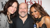 Jekyll & Hyde composer Frank Wildhorn finds himself flanked by the original Broadway Lucy (Linda Eder) and Broadway's current Lucy (Deborah Cox).