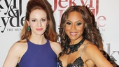 Jekyll & Hyde leading ladies Teal Wicks and Deborah Cox look flawless on opening night.