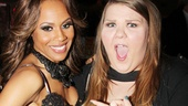 After watching Deborah Cox sing her face off onstage, Glee star Ashley Fink is in utter awe of the music diva.