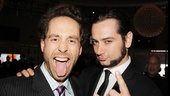 Original Rock of Ages castmates Michael Minarik and Constantine Maroulis let loose.