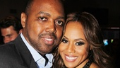 Lascelles Stephens poses cheek-to-cheek with his famous wife Deborah Cox.