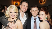 What adorable couples! Megan Hilty, Brian Gallagher, Tom Fellenbaum and Teal Wicks come together for an opening night snapshot. 