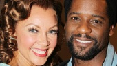 Aww! Stage and screen stars Vanessa Williams and Blair Underwood snap an adorable behind-the-scenes photo. See The Trip to Bountiful on Broadway, opening April 23!