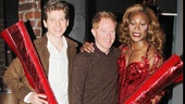 Kinky Boots leading men Stark Sands and Billy Porter welcome Broadway vet-turned-TV star Jesse Tyler Ferguson to the land of Lola at the Al Hirschfeld Theatre.