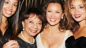 Vanessa Williams is surrounded by her proud (and gorgeous!) family: Daughter Jillian Hervey, mom Helen Williams and daughter Melanie Hervey.