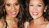 Jekyll & Hyde star Deborah Cox welcomes Bountiful's Vanessa Williams back to Broadway.