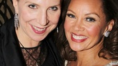 Margo McNabb Nederlander and Vanessa Williams bask in the opening night excitement.