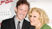 I'll Eat You Last's Tony-winning playwright John Logan joins Bette Midler for a happy snapshot.