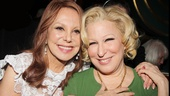 Look at these gals! Marlo Thomas and Bette Midler look radiant!