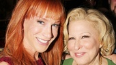 A frequent Sue Mengers party guest, Kathy Griffin, is eager to chat with Bette Midler after seeing I'll Eat You Last.