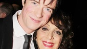 Matthew James Thomas and Andrea Martin are a loving onstage grandson and grandma in Pippin, and they're clearly close offstage, too!