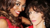Pippin stars Patina Miller and Andrea Martin look extraordinary in red at the party.