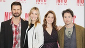 MCC Theater's world premiere production of Reasons To Be Happy stars Fred Weller, Leslie Bibb, Jenna Fischer and Josh Hamilton.