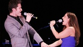 "Hairspray's Matthew Morrison and Marissa Jaret Winokur drive the crowd wild with ""Without Love."""