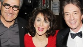 Pippin showstopper Andrea Martin reunites with her pals Eugene Levy and Martin Short after getting their start in another Stephen Schwartz musical: Godspell!