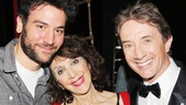 Andrea Martin hangs out backstage with not one, but two How I Met Your Mother stars, Josh Radnor and Martin Short. 