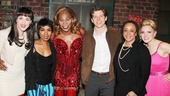 Kinky Boots stars Celina Carvajal, Billy Porter, Stark Sands and Annaleigh Ashford welcome Angela Bassett and S. Epatha Merkerson to the Al Hirschfeld Theatre.