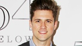 Aaron Tveit Gets a <i>Graceland</i> Greeting From His Co-Stars Backstage at 54 Below