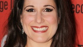 Tony nominee Stephanie J. Block (The Mystery of Edwin Drood) looks pretty in pink at the Second Stage gala.