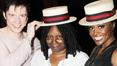 A tip of the hat to Whoopi Goldberg and Pippin stars Matthew James Thomas and Patina Miller. See the show at Broadway's Music Box Theatre!