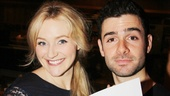 It's a wrap for Betsy Wolfe and Adam Kantor! Luckily for fans of The Last Five Years, their performances will endure on Ghostlight Records.