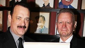 Sardi's managing partner Max Klimavicius proudly welcomes uber-star Tom Hanks to the gallery of acting legends.