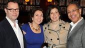 Tom Hanks at Sardi's — Colin Callender — Wendy Orshan — Arielle Tepper Madover — George C. Wolfe