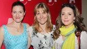 Good Television leading ladies Zoe Perry, Kelly McAndrew and Talia Balsam come together for an opening night snapshot.