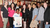 Sardi's- Kinky Boots- Cyndi Lauper- Cast