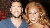 Zachary Levi and Krysta Rodriguez at 'Kinky Boots' — Zachary Levi — Billy Porter