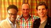 Christopher Meloni at 'Kinky Boots' — Billy Porter — Christopher Meloni — Stark Sands
