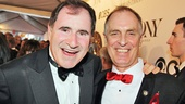 The Big Knife's Richard Kind and Hands on a Hardbody's Keith Carradine flash us a big smile.