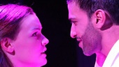 Jennifer Damiano as Willow Turner and Haaz Sleiman as Venice Monroe in Venice.