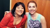 Ann Harada and Marla Mindelle offer plenty of laughs as Cinderella's stepsisters Charlotte and Gabrielle.