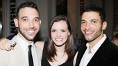 'Venice' Opening at the Public — Matt Sax — Jennifer Damiano — Haaz Sleiman