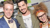 Rock of Ages - Adam Lambert Visit – Cody Scott Lancaster – Adam Lambert – Josephine Rose Roberts