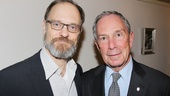 David Hyde Pierce enjoys his moment with NYC mayor.