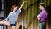 Jillian Mueller as Alex Owens and Matthew Hydzik as Nick Hurley in the national tour of Flashdance.