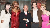 Kinky Boots- Celina Carvajal- Billy Porter- Mayor Mike Bloomberg- Stark Sands- Annaleigh Ashford