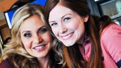 Aww! Broadway buddies (and soon-to-be film stars!) Orfeh and Allison Case take an adorable snapshot.