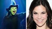 Lindsay Mendez as Elphaba in Wicked.