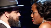 Eric Anderson as Shlomo Carlebach and Amber Iman as Nina Simone in Soul Doctor: Journey of a Rock-Star Rabbi.