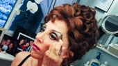 Andrea Martin, who won a Tony Award for her turn as fierce grandma Berthe in the hit revival, gets glam before hitting the stage.