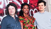 Director David Leveaux and stars Condola Rashad and Orlando Bloom are excited for theatergoers to see their contemporary take on Romeo and Juliet, opening September 19.