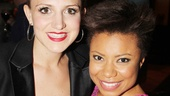 After receiving 2013 Tony nominations, Kinky Boots cast member Annaleigh Ashford and Vanya and Sonia and Masha and Spike player Shalita Grant have become fast friends.
