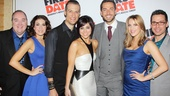 The gorgeous cast of First Date assembles on the red carpet: Blake Hammond, Kate Loprest, Bryce Ryness, Krysta Rodriguez, Zachary Levi, Sara Chase and Kristoffer Cusick.